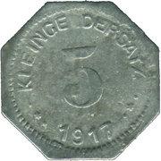 5 Pfennig (Eisleben) [Private, Saxony, Trade Union) – revers