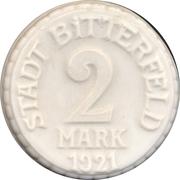 2 Mark (Bitterfeld) [Stadt, Sachsen] – avers