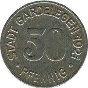 50 Pfennig (Gardelegen) [Stadt, Sachsen] -  avers