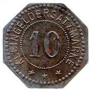 10 Pfennig (Belgern) [Stadt, Sachsen] – revers