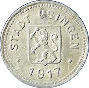10 Pfennig - Usingen (Hesse-Nassau) – avers