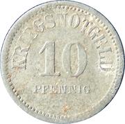 10 Pfennig - Usingen (Hesse-Nassau) – revers
