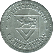 5 Pfennig (Bergzabern) [Stadt, Pfalz] – avers