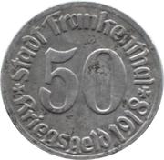 50 Pfennig (Frankenthal) – avers