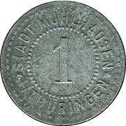 1 Pfennig (Mühlhausen in Thüringen) [Stadt, Sachsen] – avers