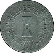 1 Pfennig (Mühlhausen in Thüringen) [Stadt, Sachsen] – revers