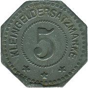 5 Pfennig (Wittenberg) [Stadt, Sachsen] – revers