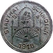 50 Pfennig (Schmölln) [Stadt, Sachsen-Altenburg] – avers