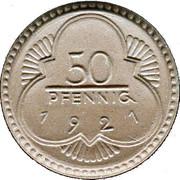 50 Pfennig (Altenburg) [Stadt, Sachsen-Altenburg] – revers