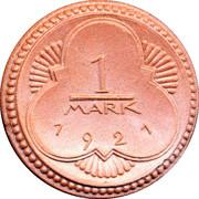 1 Mark (Altenburg) [Stadt, Sachsen-Altenburg] – avers