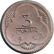 3 Mark (Altenburg) [Stadt, Sachsen-Altenburg] – revers