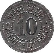 10 Pfennig (Gotha) [Stadt, Sachsen-Coburg] – revers