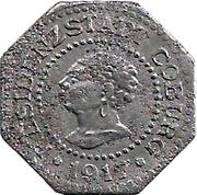 10 Pfennig (Coburg) [Stadt, Sachsen-Coburg] – avers