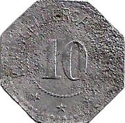 10 Pfennig (Coburg) [Stadt, Sachsen-Coburg] – revers