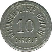 10 Pfennig (Ohrdruf) [POW, Sachsen-Coburg-Gotha) – avers