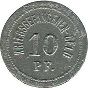 10 Pfennig (Ohrdruf) [POW, Sachsen-Coburg-Gotha) – revers