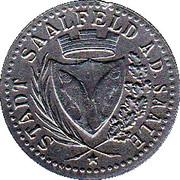 10 Pfennig (Saalfeld an der Saale) [Stadt, Sachsen-Meiningen] – avers