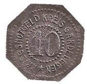 10 Pfennig (Gardelegen) [Kreis, Provinz Sachsen] – avers