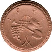 50 pfennig (Sachsen) – revers