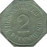 2 Pfennig (Apolda) – revers