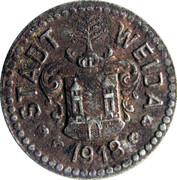 5 Pfennig (Weida) [Stadt, Sachsen-Weimar-Eisenach] – avers