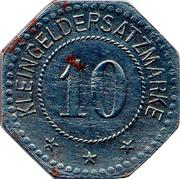 10 Pfennig (Allstedt) [Stadt, Sachsen] – revers