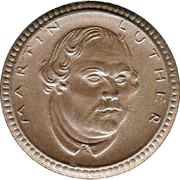 1 Mark (Eisenach) [Stadt, Schlesien-Weimar-Eisenach] – revers