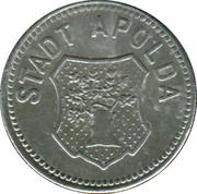 10 Pfennig (Apolda) [Sachsen-Weimer-Eisenach] – avers