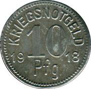 10 Pfennig (Apolda) [Sachsen-Weimer-Eisenach] – revers