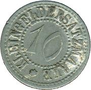 10 Pfennig (Weida) [Stadt, Sachsen-Weimar-Eisenach] – revers