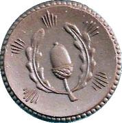 50 Pfennig (Bad Weixdorf-Lausa) [Stadt, Sachsen] – avers