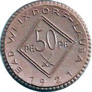 50 Pfennig (Bad Weixdorf-Lausa) [Stadt, Sachsen] – revers
