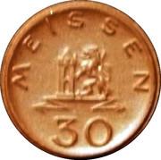 30 Pfennig- Meissen – avers
