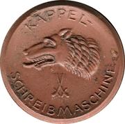 20 Pfennig (Dresden) [Private, Sachsen, Kappel-Schreibmaschine] – revers