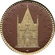 10 Mark (Leipzig) [Private, Sachsen, Thomaskirche Donation Medaillon] – avers