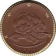 10 Mark (Leipzig) [Private, Sachsen, Thomaskirche Donation Medaillon] – revers
