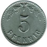 5 pfennig (P.O.W.monnaie de camp - Minden) – revers