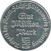1,000,000 Mark (Freiberg) [Staatliche, Sachsen, Hüttenwerke] – avers