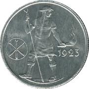 1,000,000 Mark (Freiberg) [Staatliche, Sachsen, Hüttenwerke] – revers