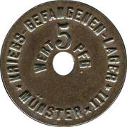 5 Pfennig (Münster) [POW, Westfalen, Münster III] – avers