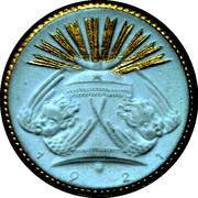 10 Mark (Gilded)- Meissen – revers