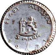 5 Mark (Meissen) [Stadt, Sachsen] – revers