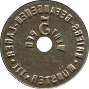 5 Pfennig (Münster) [POW, Westfalen, Münster III] – revers