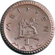 1 Mark (Meissen) [Stadt, Sachsen] – revers