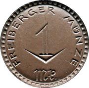 1 Mark (Freiberg) [Stadt, Sachsen] – avers