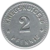 2 pfennig (Gotha) – revers