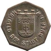25 Pfennig (Buer in Westfalen) – avers