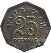 25 Pfennig (Buer in Westfalen) – revers