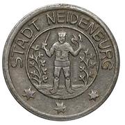 10 Pfennig (Neidenburg) [Stadt, Ostpreußen] – avers