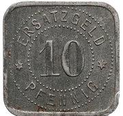 10 Pfennig (Neusalz a. Oder) [Stadt, Schlesien] – revers